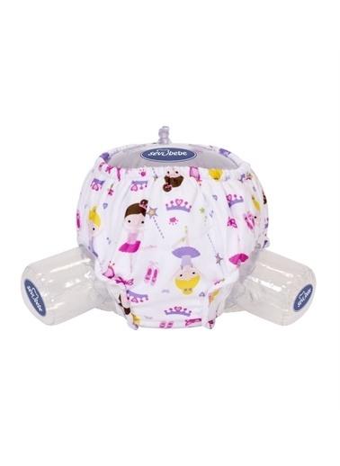 Sevi Bebe Sevi Bebe Lüks Alıştırma Külotu Prenses Desen No :1 (1015 Kg) Renkli